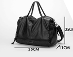 Load image into Gallery viewer, Leather motorcycle bag - monaveli - bag - Leather motorcycle bag - mymonaveli.com