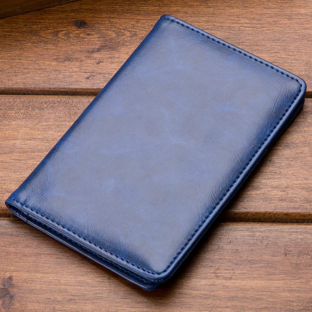 Retro Solid Color Faux Leather Wallet - monaveli - Wallets - Retro Solid Color Faux Leather Wallet - mymonaveli.com