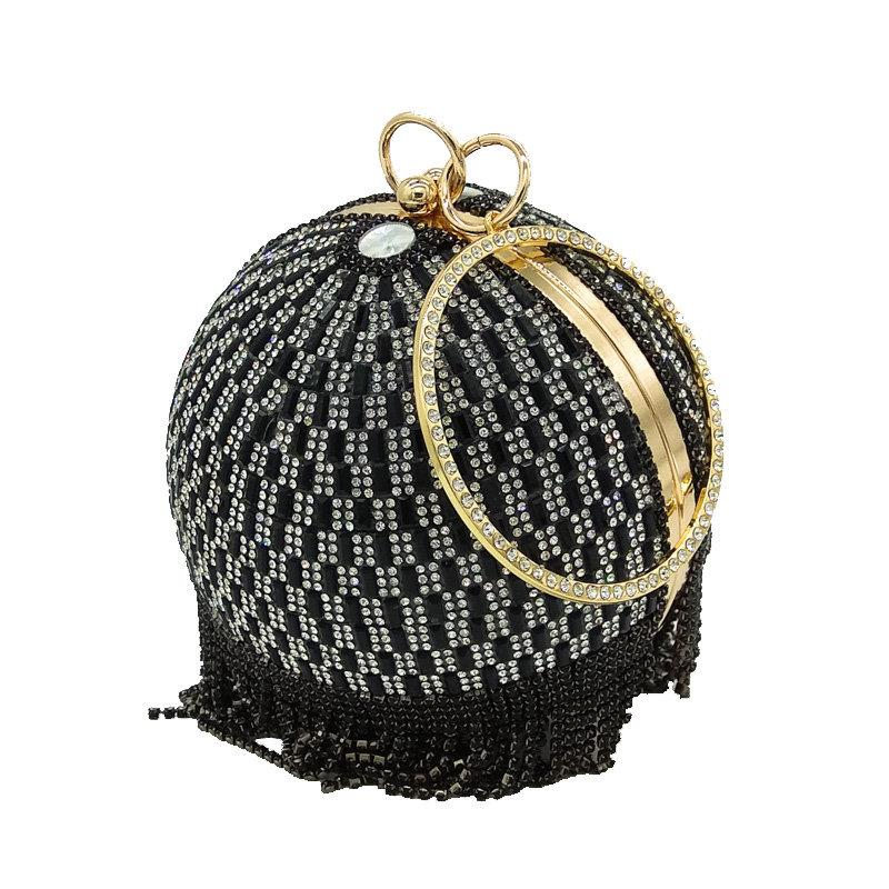 Round diamond tassel bag - monaveli - bag - Round diamond tassel bag - mymonaveli.com