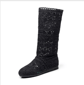 Breathable versatile flat boot - monaveli - shoes - Breathable versatile flat boot - mymonaveli.com