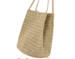 Load image into Gallery viewer, Leisure knitted shoulder straw bag - monaveli - bag - Leisure knitted shoulder straw bag - mymonaveli.com