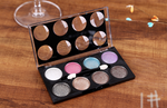 Load image into Gallery viewer, Pearl crystal diamond 8 color makeup tray