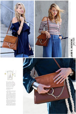 Load image into Gallery viewer, Ladies leather crossbody bag - monaveli - bag - Ladies leather crossbody bag - mymonaveli.com