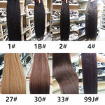 Load image into Gallery viewer, Synthetic Kinky Straight Hair Weaving 10-24inch
