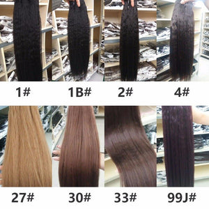 Synthetic Kinky Straight Hair Weaving 10-24inch - monaveli -  - Synthetic Kinky Straight Hair Weaving 10-24inch - mymonaveli.com