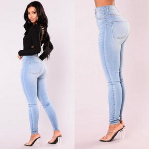 Pack hip pencil jeans