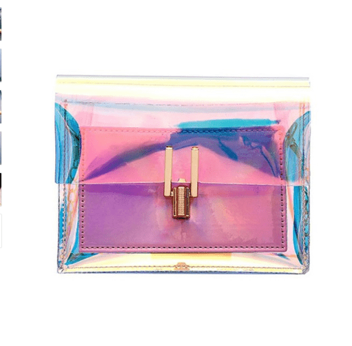 Laser Transparent Crossbody Bag - monaveli - bag - Laser Transparent Crossbody Bag - mymonaveli.com
