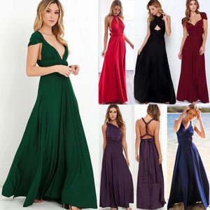 Sexy Convertible Multiway Long Dress