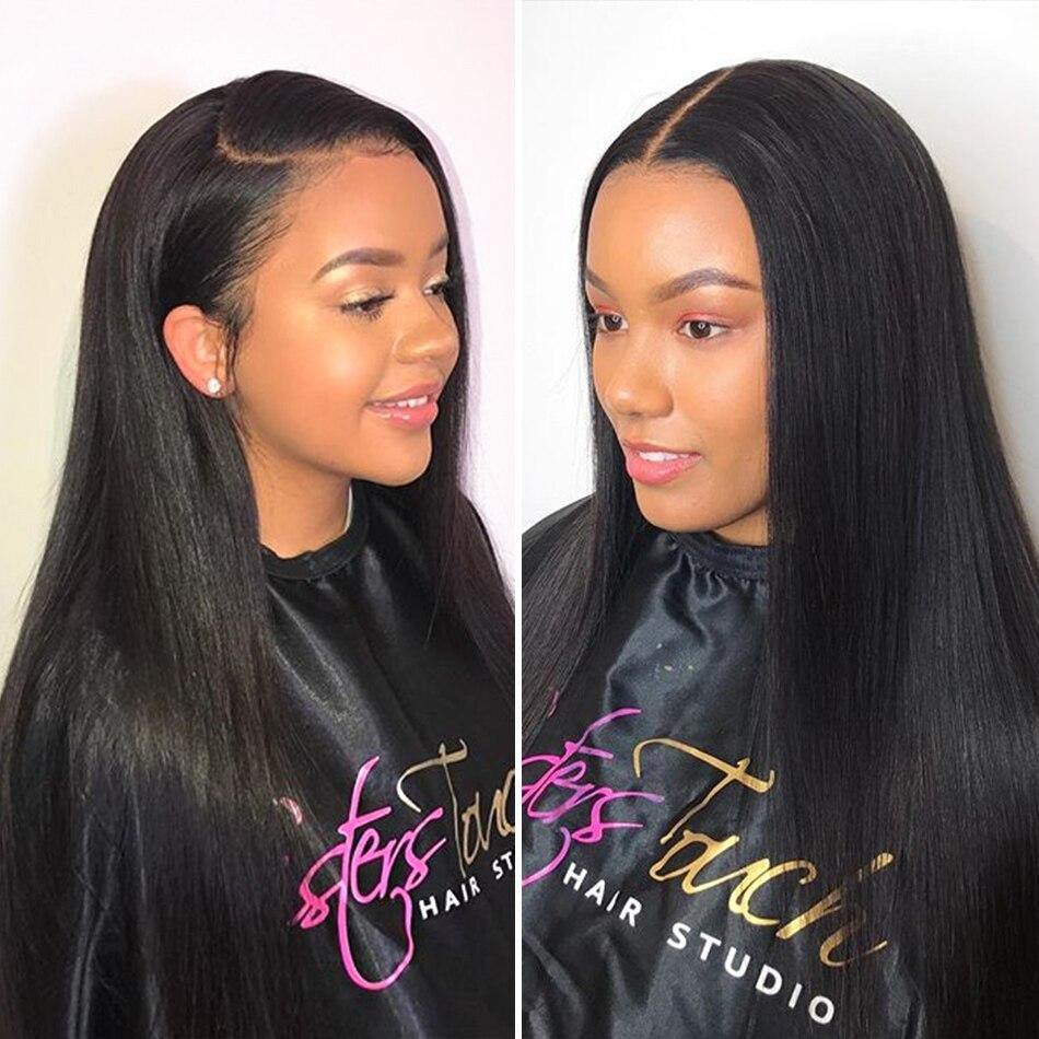 Straight Glueless Lace Front Hair