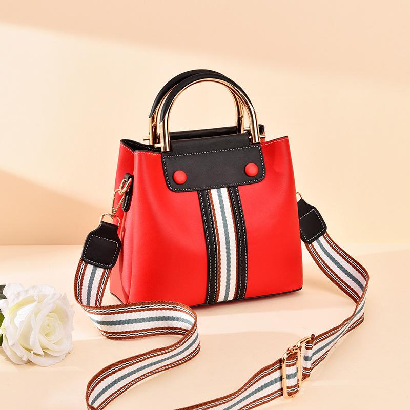 Three-layer contrast handbag - monaveli - bag - Three-layer contrast handbag - mymonaveli.com