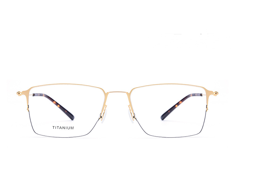 Screwless half frame square eyewear - monaveli - eyewear - Screwless half frame square eyewear - mymonaveli.com
