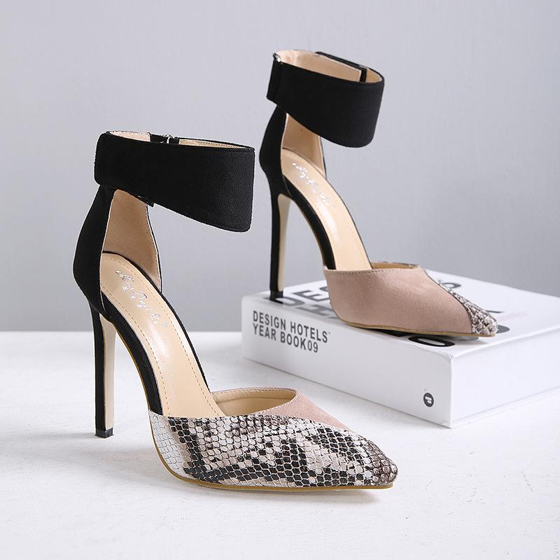 Velcro stiletto women's shoe - monaveli - shoes - Velcro stiletto women's shoe - mymonaveli.com