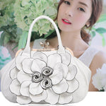 Load image into Gallery viewer, Floral Designer Handbag - monaveli - bag - Floral Designer Handbag - mymonaveli.com