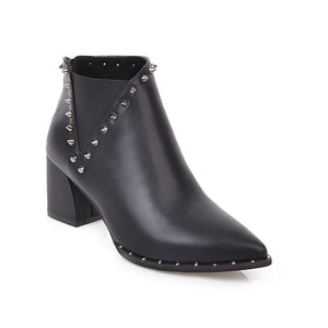 Side Zipper Martin Boot - monaveli - shoes - Side Zipper Martin Boot - mymonaveli.com