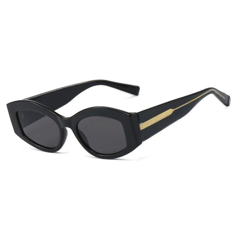 Gradient Lens Cat Eye Small Frame Sunglass - monaveli -  - Gradient Lens Cat Eye Small Frame Sunglass - mymonaveli.com