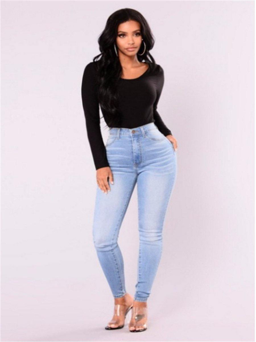 Pack hip pencil jeans - monaveli - Women's Clothing - Pack hip pencil jeans - mymonaveli.com