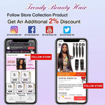 Load image into Gallery viewer, Peruvian Straight Human Hair - monaveli -  - Peruvian Straight Human Hair - mymonaveli.com