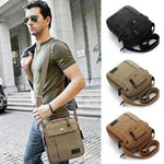 Load image into Gallery viewer, Men's Simple Causal Canvas Rucksack - monaveli - Bag Accesories - Men's Simple Causal Canvas Rucksack - mymonaveli.com