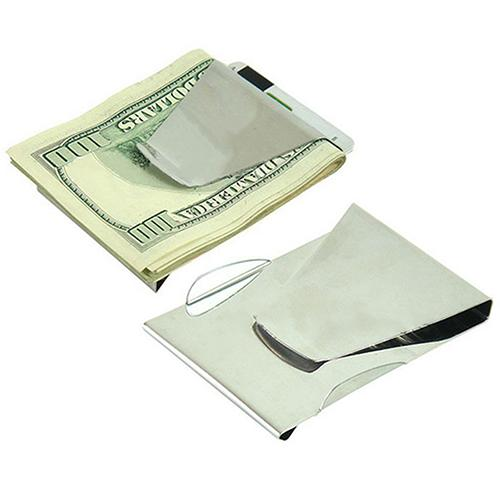 Stainless Steel Double Sided Wallet - monaveli - Wallets - Stainless Steel Double Sided Wallet - mymonaveli.com