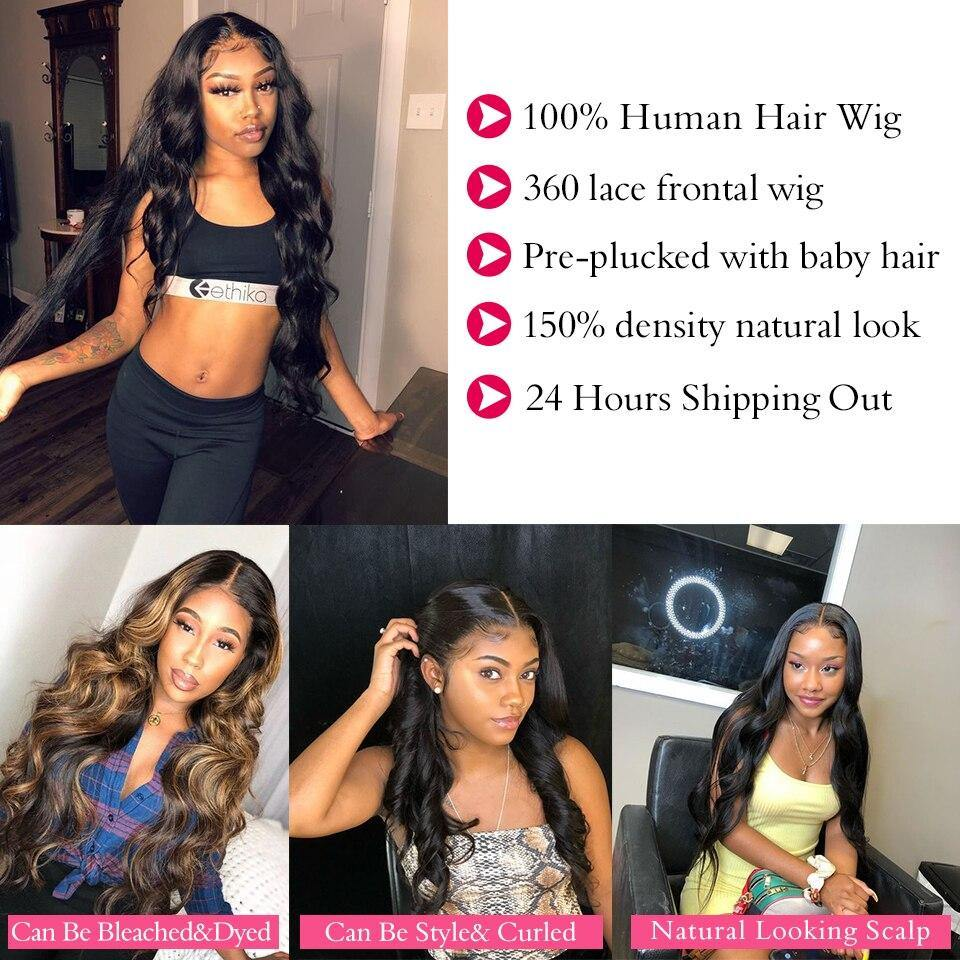 Black Pearl Body Wave Lace Front Wig