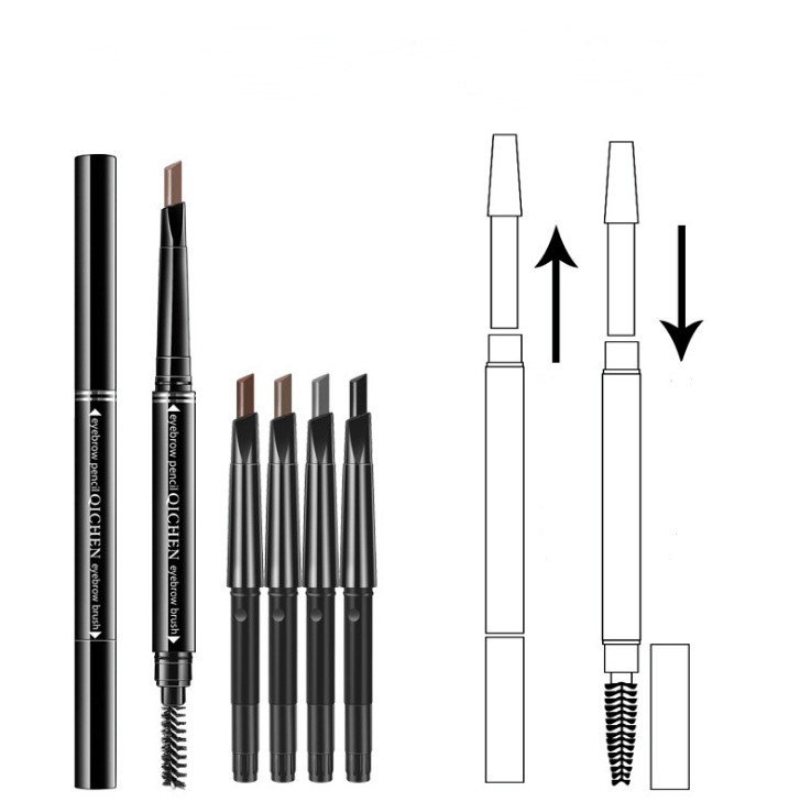 Double-headed waterproof eyebrow pencil - monaveli - beauty - Double-headed waterproof eyebrow pencil - mymonaveli.com