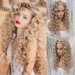 Load image into Gallery viewer, Synthetic Long Curly Heat Resistant Hair
