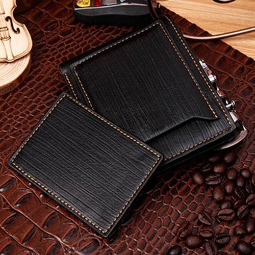 Men's Leather Bi-fold Wallet - monaveli - Wallets - Men's Leather Bi-fold Wallet - mymonaveli.com