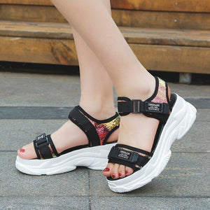 Summer Women's Chunky Sandals - monaveli -  - Summer Women's Chunky Sandals - mymonaveli.com
