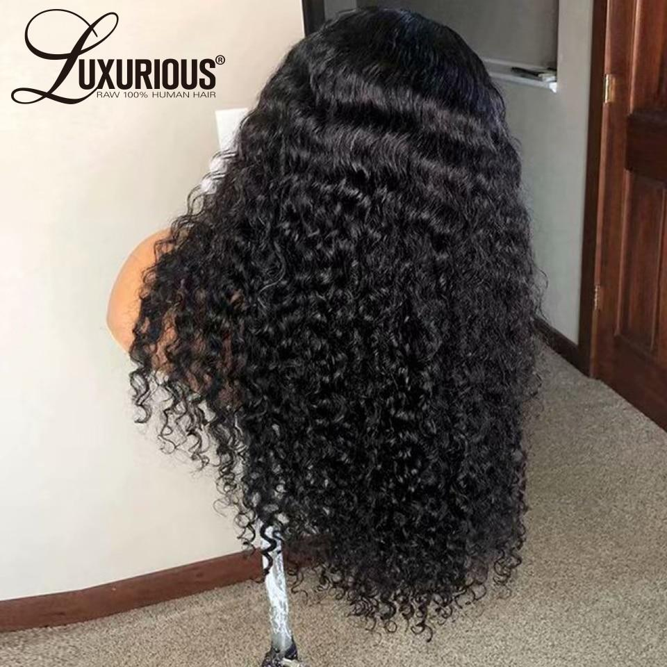 150% Curly Human Hair Wig With Baby Hair Pre-Plucked Lace Front - monaveli -  - 150% Curly Human Hair Wig With Baby Hair Pre-Plucked Lace Front - mymonaveli.com