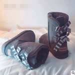Load image into Gallery viewer, Non-slip bow snow boot - monaveli - shoes - Non-slip bow snow boot - mymonaveli.com