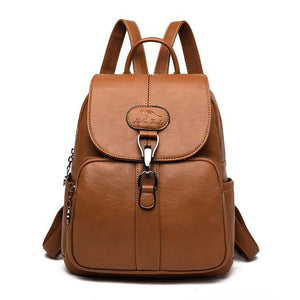 Multi function Women's Leather Backpack - monaveli -  - eprolo Multi function Women's Leather Backpack - mymonaveli.com
