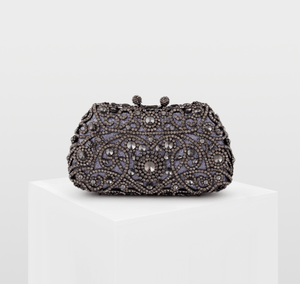 Crystal Beaded Evening Bag - monaveli - bag - Crystal Beaded Evening Bag - mymonaveli.com