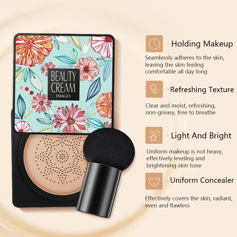Mushroom air cushion BB cream - monaveli - beauty - Mushroom air cushion BB cream - mymonaveli.com