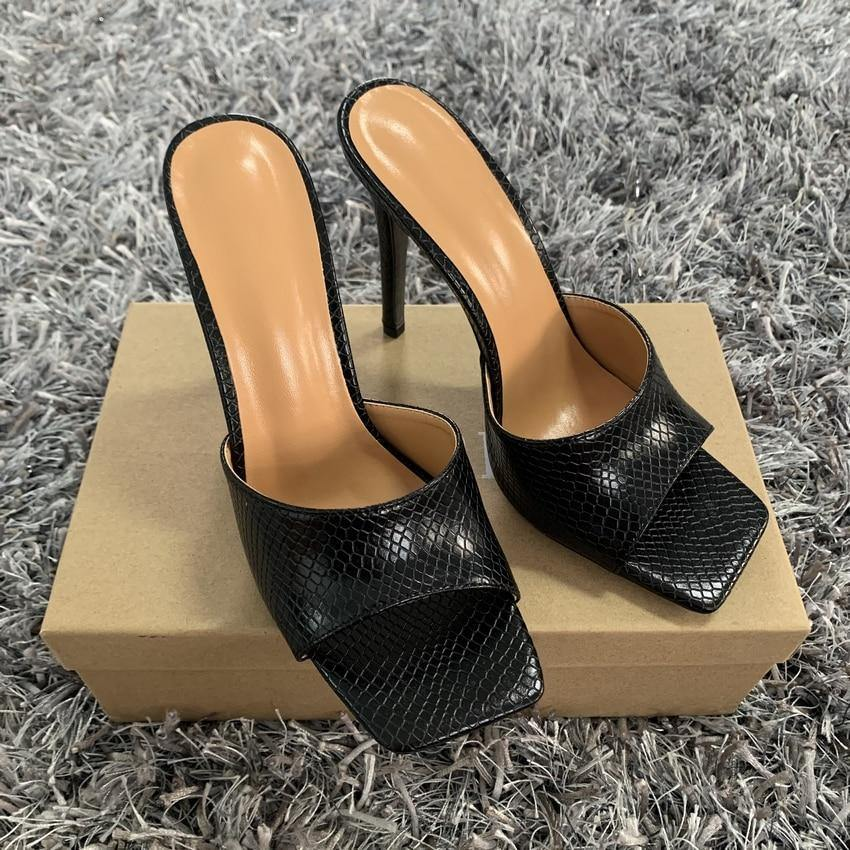 Square Toe Ladies Heels - monaveli -  - Square Toe Ladies Heels - mymonaveli.com