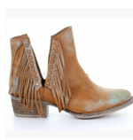 Load image into Gallery viewer, Rivet cowboy boot - monaveli - shoes - Rivet cowboy boot - mymonaveli.com