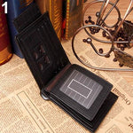 Load image into Gallery viewer, Men's Leather Bi-fold Wallet - monaveli - Wallets - Men's Leather Bi-fold Wallet - mymonaveli.com