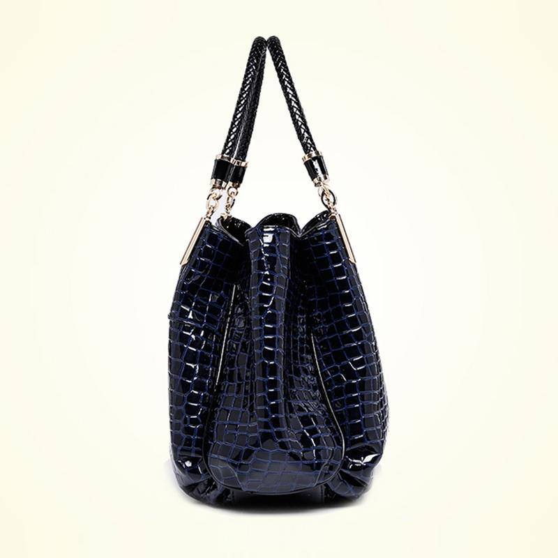Luxury Crocodile Leather Handbag