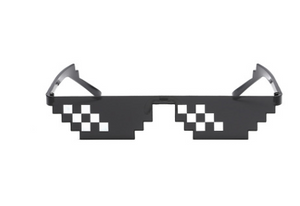 Mozaic coded pixel sunglass