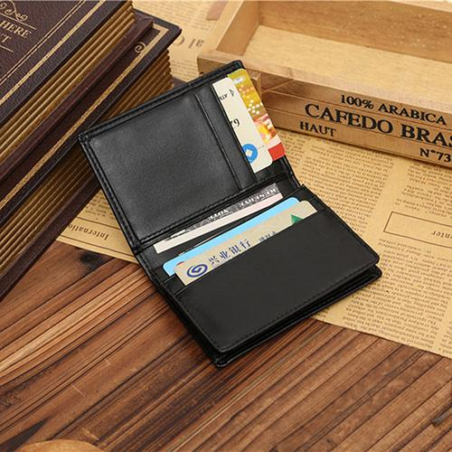 Men's Faux Leather Wallet - monaveli - Wallets - Men's Faux Leather Wallet - mymonaveli.com