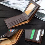 Load image into Gallery viewer, Men's Business Faux Leather Wallet - monaveli - Wallets - Men's Business Faux Leather Wallet - mymonaveli.com