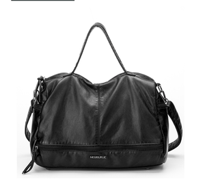 Leather motorcycle bag - monaveli - bag - Leather motorcycle bag - mymonaveli.com