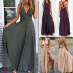 Load image into Gallery viewer, Sexy Convertible Multiway Wrap Bandage Maxi Long Dress - monaveli - Casual Dresses - Sexy Convertible Multiway Wrap Bandage Maxi Long Dress - mymonaveli.com