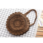 Load image into Gallery viewer, Vintage Bohemian Straw Bag