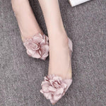 Load image into Gallery viewer, Women's Transparent Flower Shoe - monaveli -  - eprolo Women's Transparent Flower Shoe - mymonaveli.com