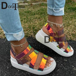 Load image into Gallery viewer, DORATASIA Luxury Platform Sandals - monaveli -  - DORATASIA Luxury Platform Sandals - mymonaveli.com