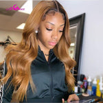Load image into Gallery viewer, Colored Human Hair Wigs Pre Plucked Lace Front - monaveli -  - eprolo Colored Human Hair Wigs Pre Plucked Lace Front - mymonaveli.com