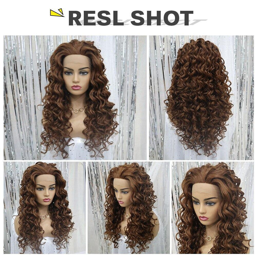 Synthetic Long Curly Heat Resistant Hair