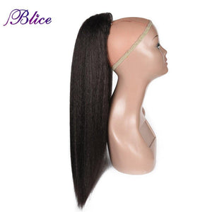 Synthetic 18-24 inch Kinky Straight Heat Resistant Hair