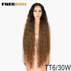 Synthetic Lace Front 40 Inch Wig