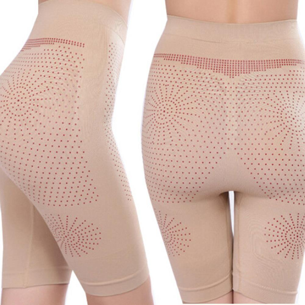 Women Shaper Mid-Thigh Body Shapewear Bodysuit Shorts Brilliance High-Waist Panty Modeling Strap Slimming Corset waist trainer